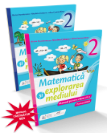 Matematica si explorarea mediului. Manual pentru clasa a II-a (partea I si partea a II-a) fara CD