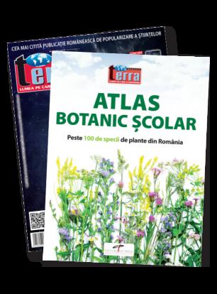 Pachet V - Atlas Botanic+ Revista Terra Magazin