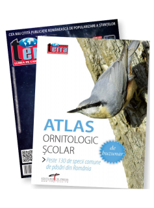 Pachet VI - Atlas Ornitologic + Revista Terra Magazin