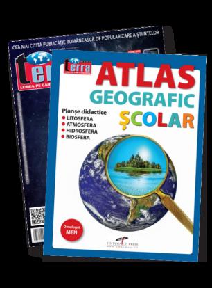 Pachet VII - Atlas Geografic + Revista Terra Magazin