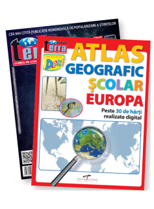 Pachet VIII - Atlas Geografic - Europa+ Revista Terra Magazin