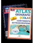Pachet IX - Atlas Geografic - Continente extraeuropene + Revista Terra Magazin