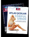Pachet X - Atlas Corpul uman + Revista Terra Magazin