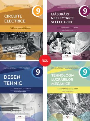 Pachet clasa a IX-a - 6 - Tehnic - Electromecanic