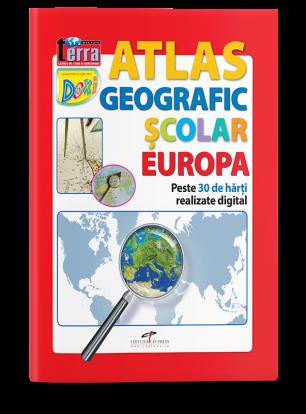 Atlas geografic scolar. Europa.