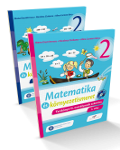 Matematica si explorarea mediului. Versiune in limba maghiara. Manual pentru clasa a II-a (partea I si partea a II-a)