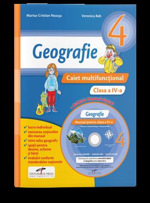 Geografie. Caiet multifunctional pentru clasa a IV-a