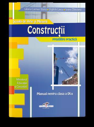 Construcții. Manual pentru clasa a IX-a