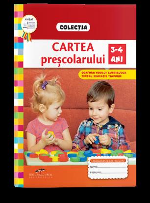 Cartea preșcolarului 3-4 ANI