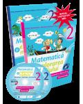 Matematică şi explorarea mediului - Manual pentru clasa a II-a (partea I şi partea a II-a)