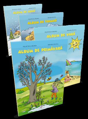 Set albume (Primăvara, Vara, Toamna, Iarna)