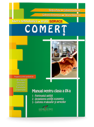 Comerț. Manual pentru clasa a IX-a