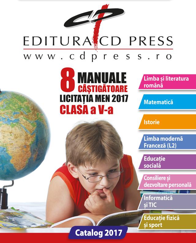 8MANUALE CÂȘTIGĂTOARE LICITAȚIA MEN 2017 CLASA a V-a