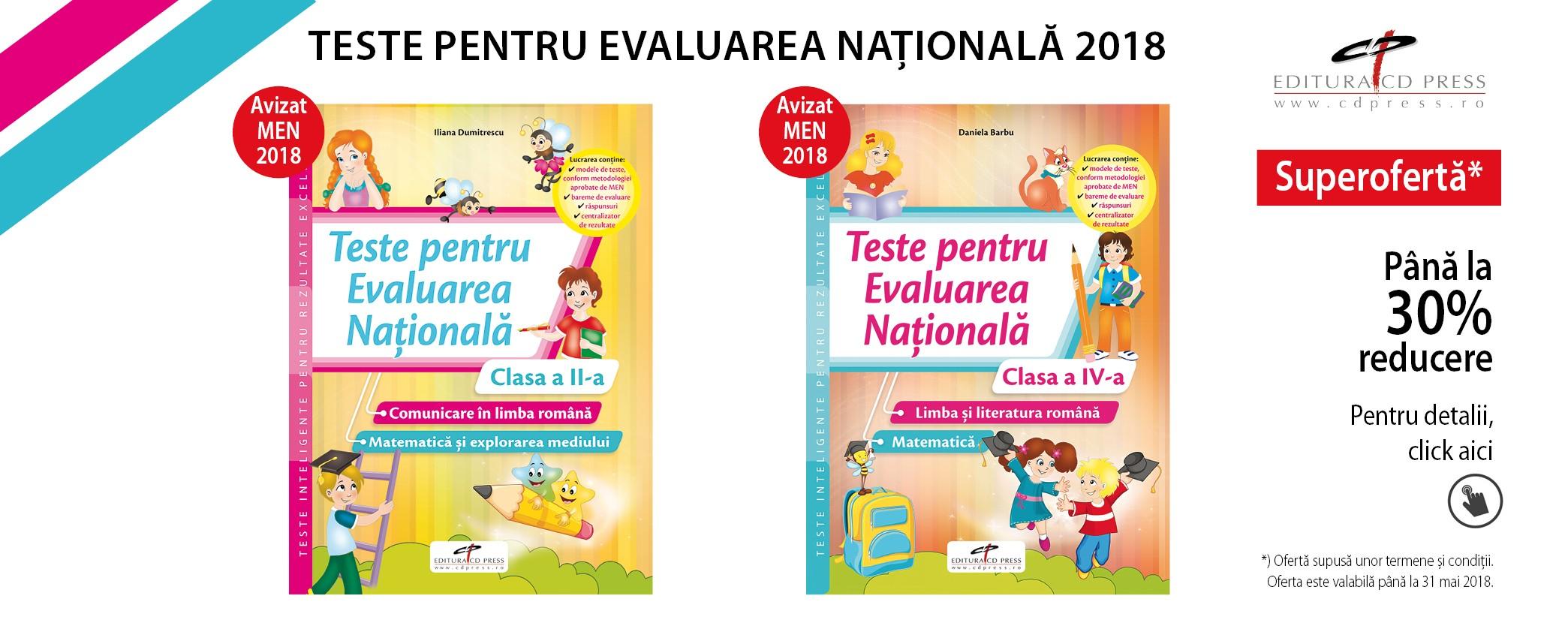 Teste evaluare nationala
