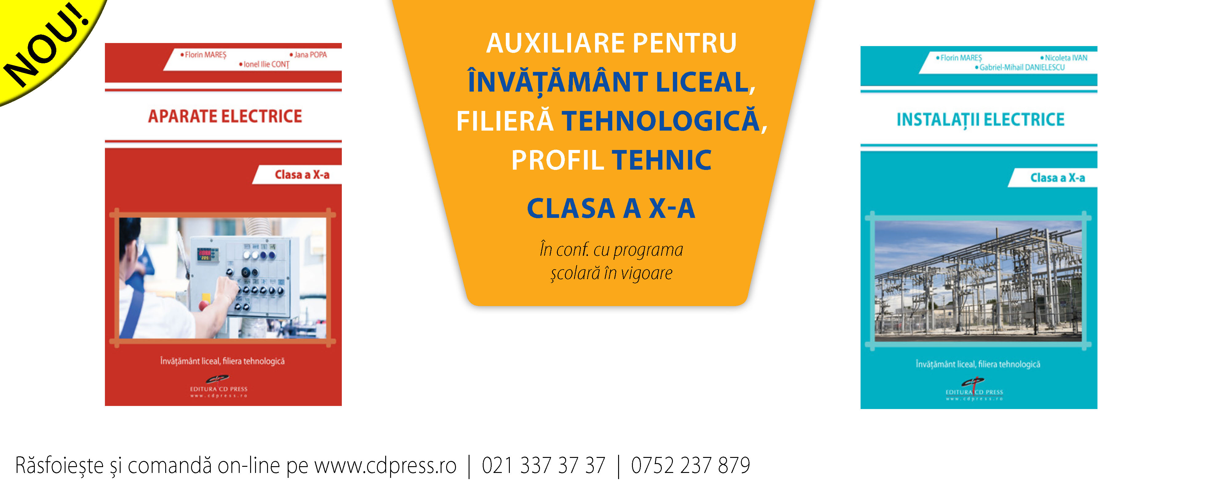 Auxiliare filiera tehnologica, profil tehnic clasa a X-a