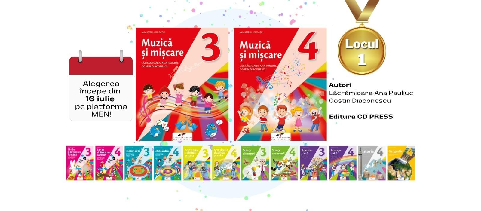 Muzica si miscare. Manual pentru clasa a III-a si a IV-a